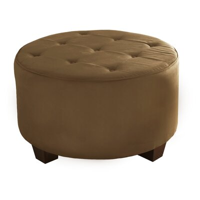 Premier Cocktail Ottoman Upholstery: Saddle
