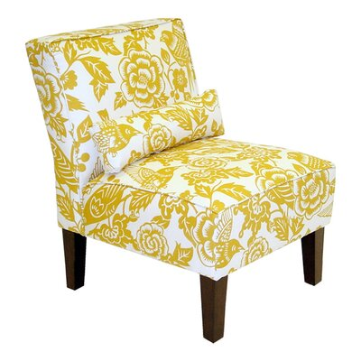 Thurston Slipper Chair Upholstery: Canary Maize