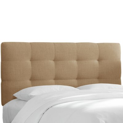 Claudia Upholstered Panel Headboard Size: California King
