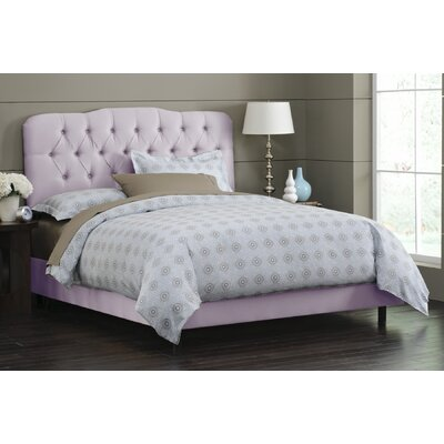 Easy financing Panel Bed Size: King, Finish: Lilac...