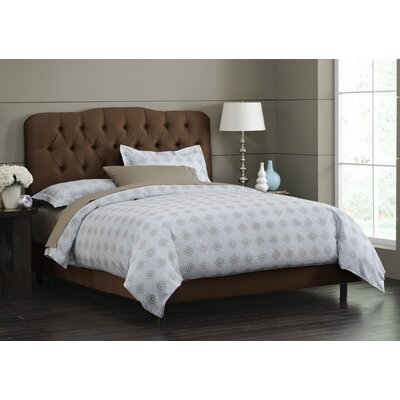 In store financing Panel Bed Size: King, Finish: Choco...