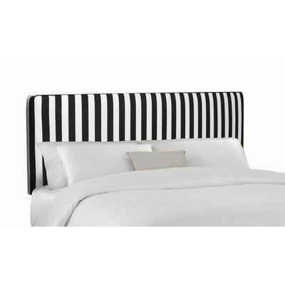 Easy financing Striped Upholstered Headboard Size:...