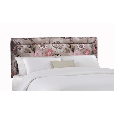 Loan for furniture Floral Upholstered Headboard Size: ...