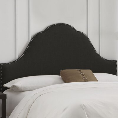 In store financing Nail Button Arch Upholstered Headbo...