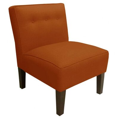 Garden Slipper Chair Upholstery: Patriot Tangerine