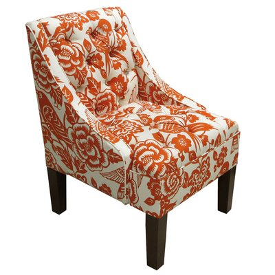 Mystere Armchair Upholstery: Canary Tangerine