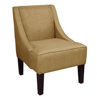 Goldhorn Armchair Upholstery: Glitz Filbert, Nailhead Detail: No Trim