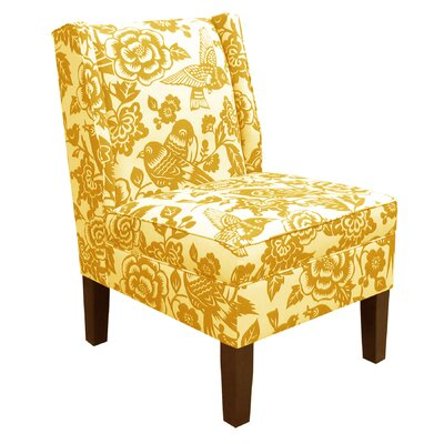 Wingback Canary Side Chair
