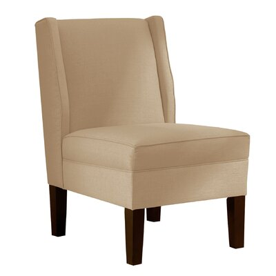 Wingback Chair Upholstery: Klein Oyster