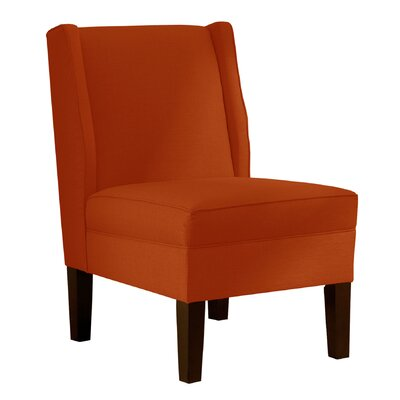 Wingback Chair Upholstery: Klein Saffron