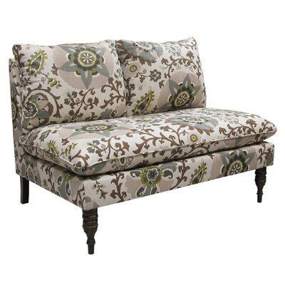 Skyline Furniture 5106SLSRHN Silsila Settee Loveseat