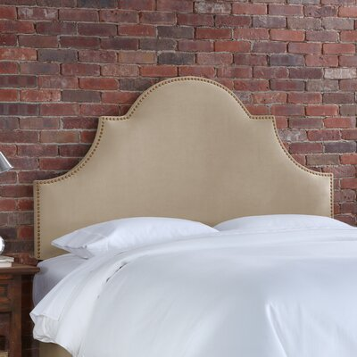 Furniture leasing Velvet High Arch Panel Headboard Si...