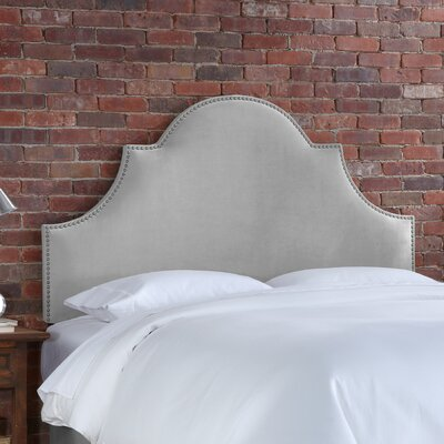 Easy financing Velvet High Arch Panel Headboard Co...
