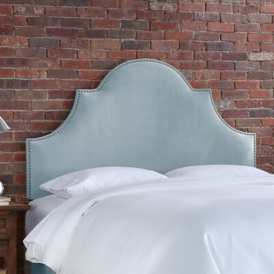 Bad credit financing Velvet High Arch Panel Headboard Co...