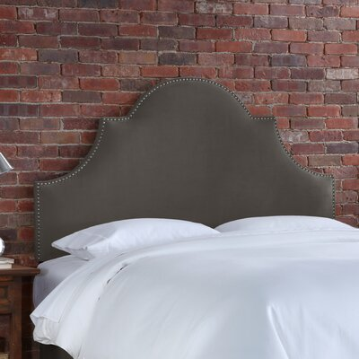 Furniture financing Velvet High Arch Panel Headboard Si...