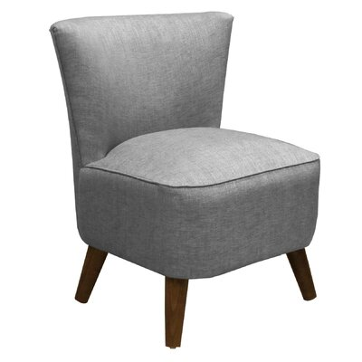 Crown Slipper Chair Upholstery: Groupie Pewter