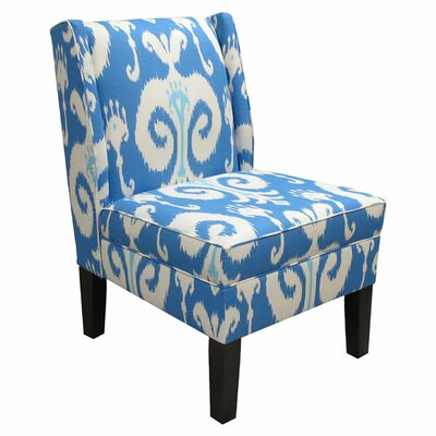 Wingback Chair Upholstery: Himalaya Porcelain