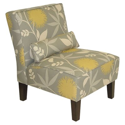Skyline Furniture Floral Slipper Chair - Color: Poly Dove at Sears.com