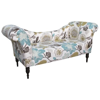 Gorgeous Roll Arm Chaise Lounge Upholstery: Pearl
