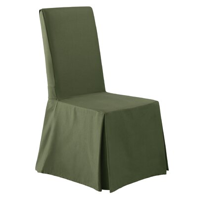 Twill Supreme Long Chair Slipcover