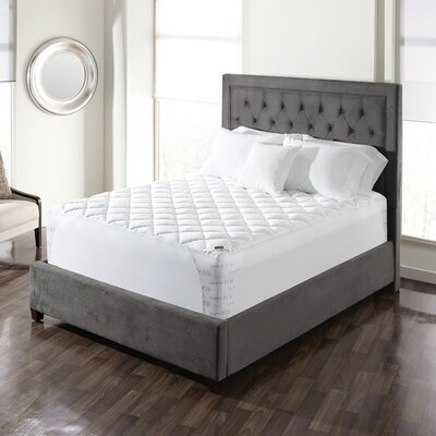 Memory Foam Mattress Pad Size: King