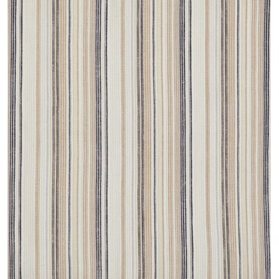 Harbor Stripe Sofa Slipcover Upholstery: Light Brown