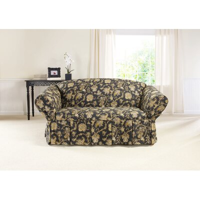 Tennyson Box Cushion Loveseat Slipcover