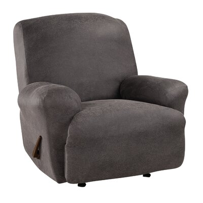 Ultimate Stretch Recliner Slipcover Upholstery: Antiqued Slate