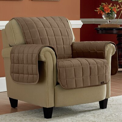 Deluxe Pet Chair Slipcover Upholstery: Sable