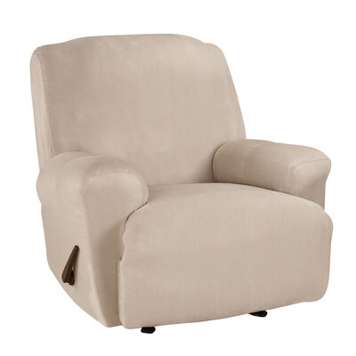 T-Cushion Recliner Slipcover Upholstery: Cement