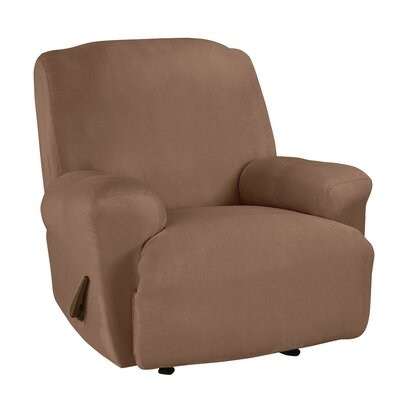 T-Cushion Recliner Slipcover Upholstery: Luggage