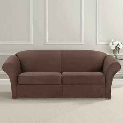 Ultimate Heavyweight Stretch Suede Sofa Slipcover