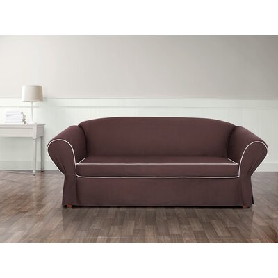 Tailored Wing T-Cushion Skirted Slipcover