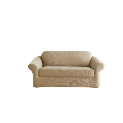 Stretch Pearson Box Cushion Sofa Slipcover