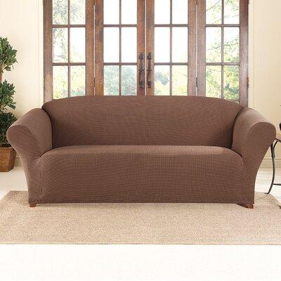 Honeycomb Box Cushion Sofa Slipcover