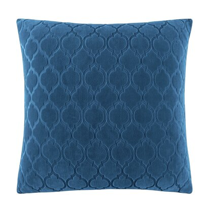 Stretch Grand Marrakesh Pillow Box Cushion Slipcover Color: Nile Blue