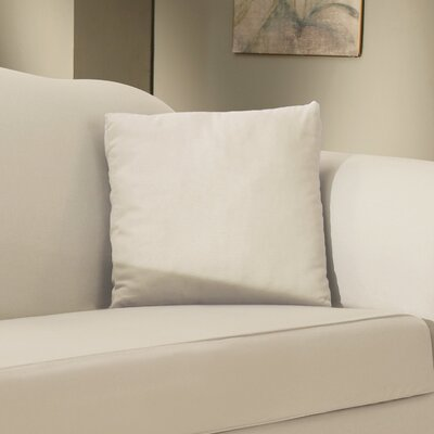 Duck Solid T-Cushion Slipcover Color: Natural