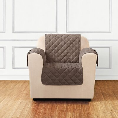 Quilted Pet Chair Slipcover Color: Cocoa