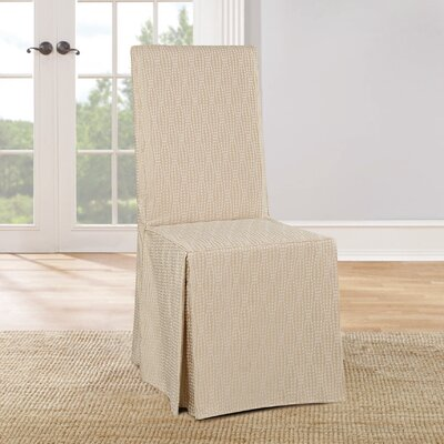 Strand Waverly Dining Chair Slipcover Color: Tan