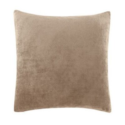 Stretch Plush Pillow Slipcover Color: Sable