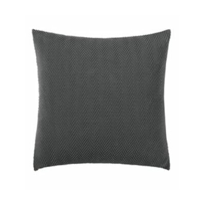 Stretch Modern Chevron Pillow Slipcover Color: Carbon Gray