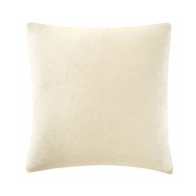Stretch Plush Pillow Slipcover Color: Cream