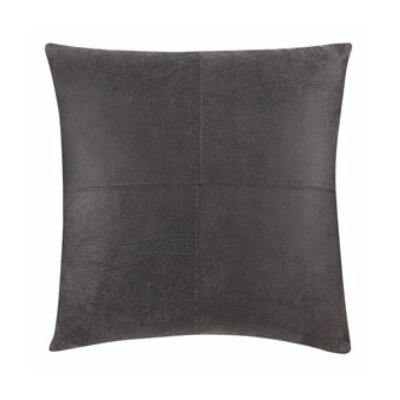 Ultimate Stretch Leather Pillow Slipcover Color: Antiqued Slate