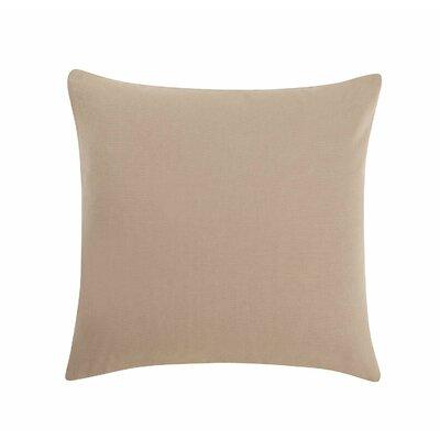 Sailcloth Pillow Cotton Duck Slipcover Color: Khaki