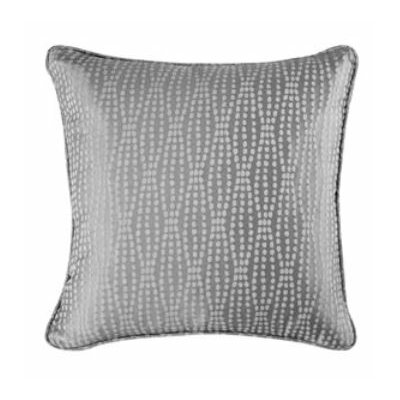 Strands Pillow Slipcover Color: Charcoal