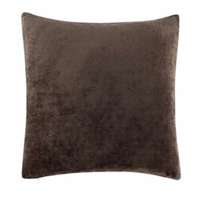 Stretch Plush Pillow Slipcover Color: Chocolate