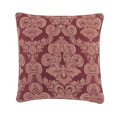 Middleton Box Cushion Pillow Cover Color: Garnet