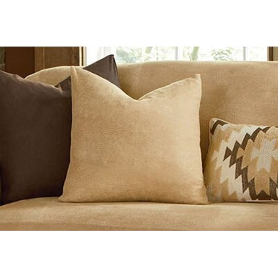 Stretch Leather Pillow Slipcover