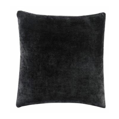 Stretch Plush Box cushion Futon Slipcover Color: Black