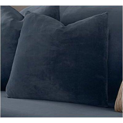 Stretch Plush Pillow Slipcover Color: Storm Blue